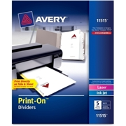 Avery Avery Customizable Print-On Dividers