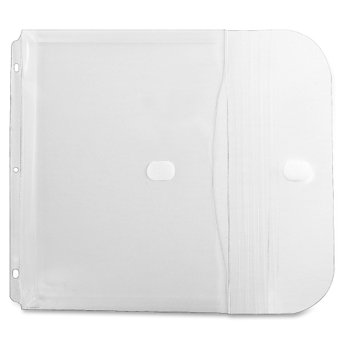 C-Line Binder Pocket, Side Loading, Clear, 5/PK