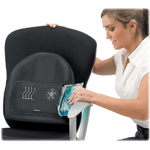 Fellowes, Inc Fellowes Heat and Soothe Back Support