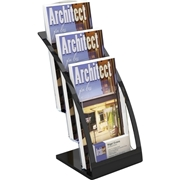 Deflecto Corporation Deflect-o 3-tier Contemporary Leaflet Holder