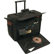 "Bond Street, Ltd Stebco Carrying Case (Roller) for 17"" Notebook, Document - Black"