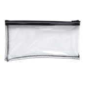 MMF Clear Vinyl Zipper Wallet