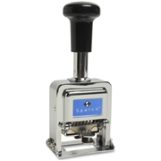 Sparco Products Sparco Self-Inked 7 Wheels Automatic Numbering Machine