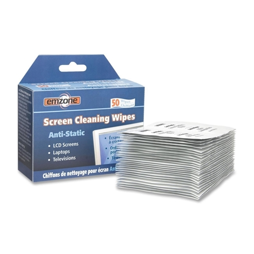 Empack Spraytech, Inc Empack Anti-Static Screen Cleaning Wipe