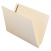Smead 37115 Manila End Tab Fastener File Folders with Reinforced Tab
