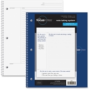 "TOPS FocusNotes Notebook, 11"" x 9"", White, 100 SH"