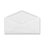 MeadWestvaco Columbian Plain White Business Envelope