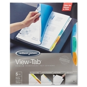 Wilson Jones View-Tab Transparent Dividers