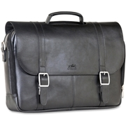 "MANCINI 5th AVENUE Carrying Case (Briefcase) for 15.6"", Notebook - Black"