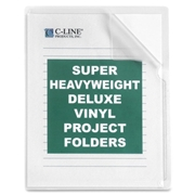 C-Line Products, Inc C-Line Non-Glare Vinyl Project Folder