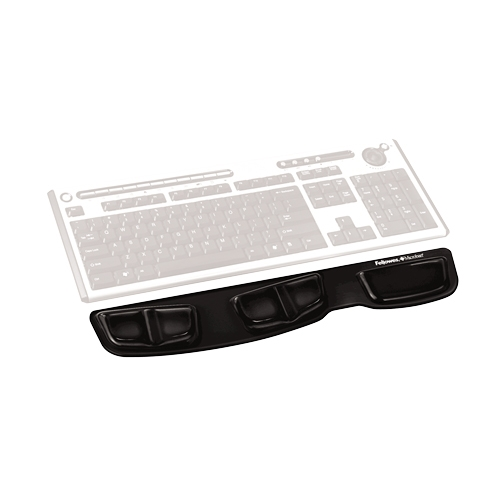 Fellowes, Inc Fellowes Keyboard Palm Support with Microban Protection