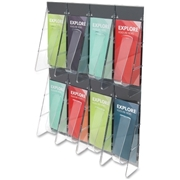 Deflect-o Pamphlet Wall Rack