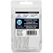Merangue International Limited Merangue 50 Pack White Strung Tags