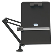 Exponent Microport Ergocurved Deskclamp Flex Arm Copyholder