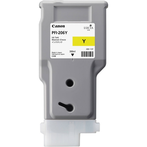 Canon PFI-206 Yellow OEM Ink Cartridge