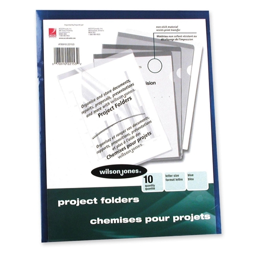ACCO Brands Corporation Wilson Jones Vinyl Pocket Folder