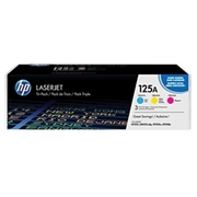 HP OEM 125A Tri-pack (CE259A Tri-pack) Toner Cartridge