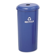 Safco Products Safco Recycling Receptacle with Lid