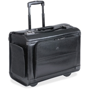 "MANCINI Leather Goods MANCINI Carrying Case (Roller) for 17"" Notebook - Black"