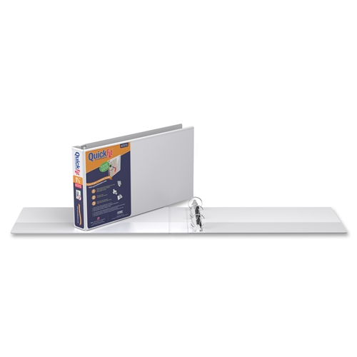 QuickFit 9500 Antimicrobial Legal View Binder