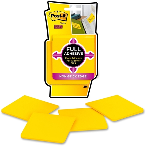 3M Post-it Super Sticky Full Adhesive Notes
