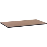 Lorell Medium Oak Laminate Rectangular Activity Tabletop