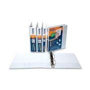 QuickFit Antimicrobial Round Ring Binder