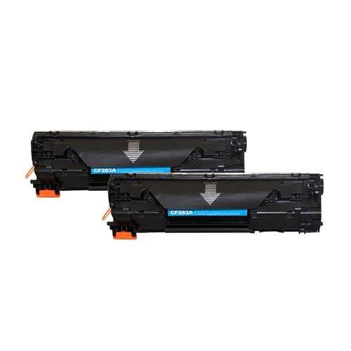 HP Compatible 83A 2pk (CF283A 2pk) Toner Cartridge