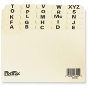 Oxford Esselte Index Card File Guide