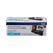 Brother OEM TN-339C (TN339C Super High Yield) Toner Cartridge