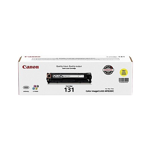 Canon OEM 131 Yellow Toner Cartridge