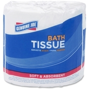 Genuine Joe 2-Ply Standard Bath Tissue Rolls
