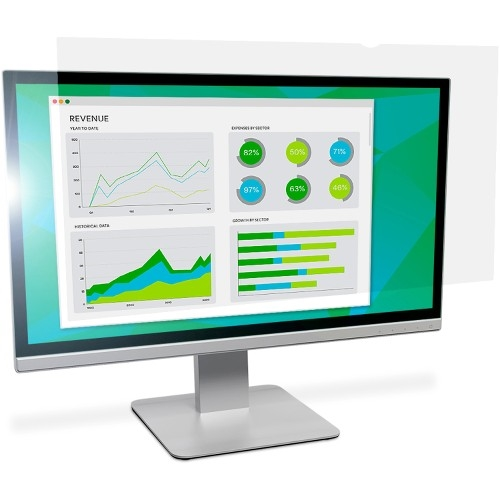 "3M AG19.0W Anti-Glare Filter for Widescreen Desktop LCD Monitor 19"" Clear"