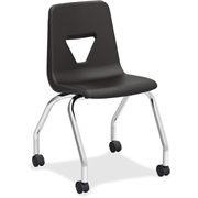 Lorell Classroom Mobile Chairs - 2/CT