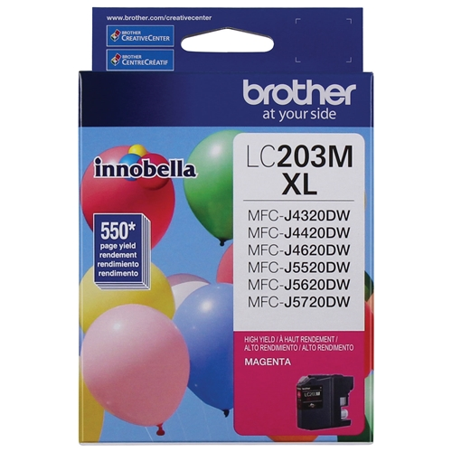 Brother LC-203 MS (LC203MS High Yield) OEM Ink Cartridge