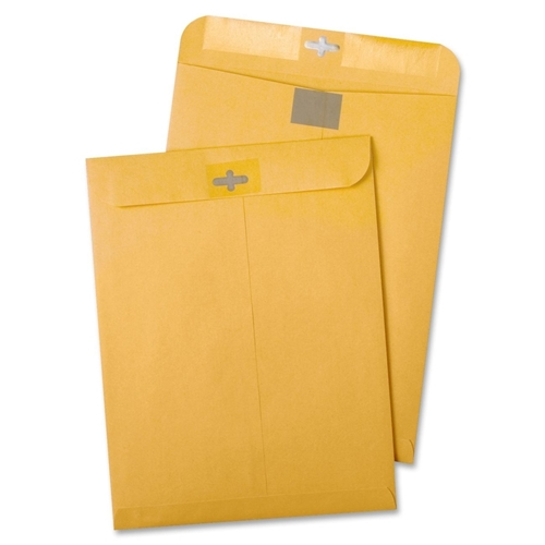Quality Park Products Quality Park Resealable Redi-Tac Clear Clasp Envelope