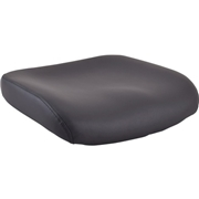 Lorell Padded Leather Seat Cushion for Conjure Executive Mid/High-back Chair Frame