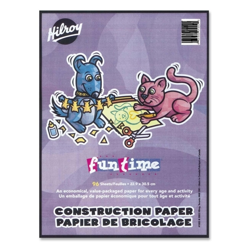 Hilroy Lightweight Construction Paper Pad