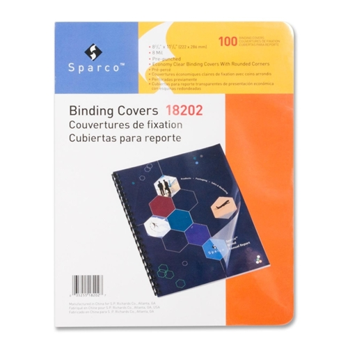 Sparco Products Sparco Standard Round Corner Presentation Cover