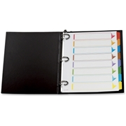 Oxford Esselte Color Coded Index Divider