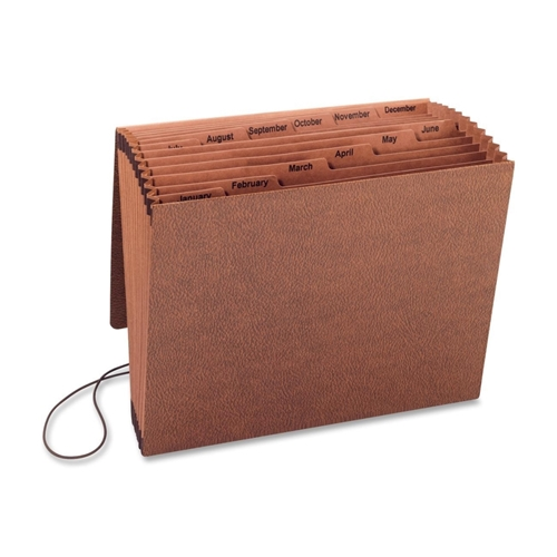 Sparco Products Sparco Jan-Dec Accordion File