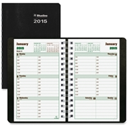 Rediform Twin Wire DuraGlobe Weekly Planners