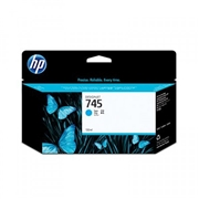 HP #745 130-ml CY (F9J97A) OEM Ink Cartridge