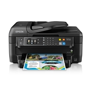 Epson WorkForce WF-2660 Wireless and Airprint Enabled All-In-One Inkjet Printer