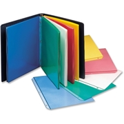 C-Line Products, Inc C-Line Colored Polypropylene Sheet Protector, assorted colors, 11 x 8 1/2, 50/BX