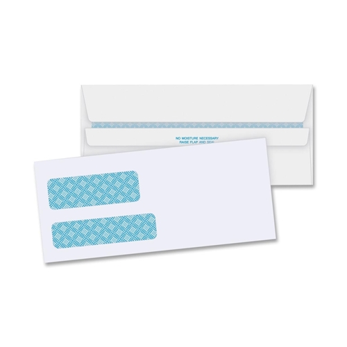 Business Source Double Window Envelope