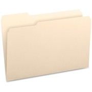 Business Source 1/3-cut Tab Legal Manila File Folders