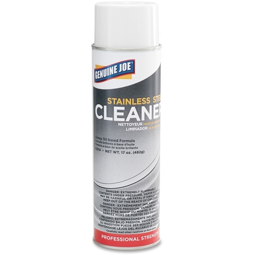 Genuine Joe Stainless Steel Cleaner and Polish