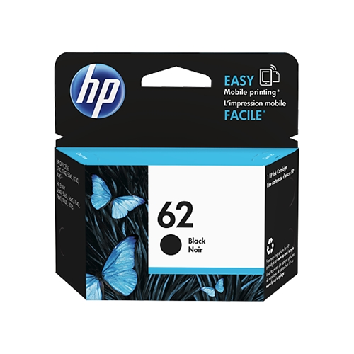 HP #62 BK (C2P04AN#140) OEM Ink Cartridge