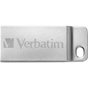 Verbatim America, LLC Verbatim 64GB Metal Executive USB Flash Drive - Silver